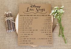 Name That Disney Princess Bridal Shower Game . Fun Bridal Shower Games, Bridal Bingo, Bridal Showers, Bridal Games, Wedding Games, Wedding Vows, Disney Love Songs, Disney Love Quotes, Budget Spreadsheet