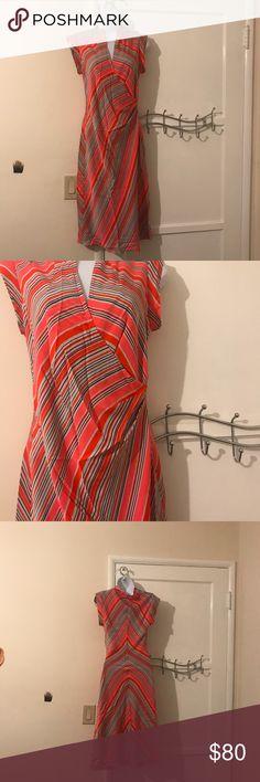 DIane Von Furstenberg dress Beautiful dress from DVF.  91% silk and 9% Lycra.  Dry clean only. Diane Von Furstenberg Dresses Midi