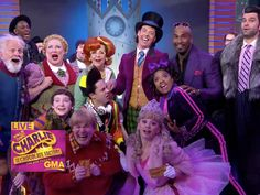 Christian Borle & the Stars of Charlie and the Chocolate Factory Sing a Pair of Tunes on Good Morning America | Broadway Buzz | Broadway.com
