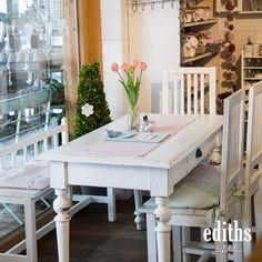 edihts Café Bizau Dining Table, Rustic, Furniture, Home Decor, Dinner Table, Nice Asses, Country Primitive, Decoration Home, Room Decor