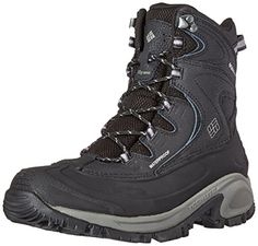 Columbia Women's Bugaboot II Snow Boot, Black/Quarry, 9 B US -- Check this awesome product by going to the link at the image.