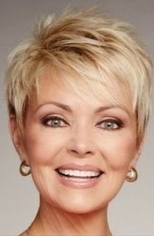 55 New Short Hairstyles for 2019 - Bob Cuts for Everyone, New Short Hairstyles for 2019 So the haircuts of 2018-2019 year have absorbed all the good and quality that was offered in previous years. Everything ..., Short Hairstyles Thin Hair Cuts, Short Thin Hair, Short Grey Hair, Short Cuts, Pixie Cut Thin Hair, Modern Short Hair, Wavy Hair, Short Hair Over 60, Short Blonde Pixie