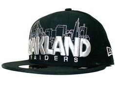 NEW ERA x NFL「Oakland Raiders City Series」59Fifty Fitted Baseball Cap  Oakland Raiders 9797dee89