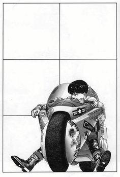 Akira by Katsuhiro Otomo. Manga Anime, Fanarts Anime, Manga Art, Anime Art, Character Design References, Character Art, Akira Kaneda, Akira Anime, Katsuhiro Otomo