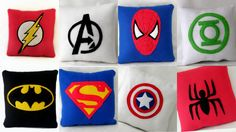 Superhero cushion Pick your designAvengers by TheCraftyButtonUK
