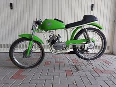 B.M. Bonvicini - Sport - 48 cc - 1971 Vintage Moped, 50cc, Antique Auctions, Scrambler, Around The Worlds, Motorcycle, Antiques, Vehicles, Sports