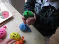 Pre-school Play: Stress Ball Balloons