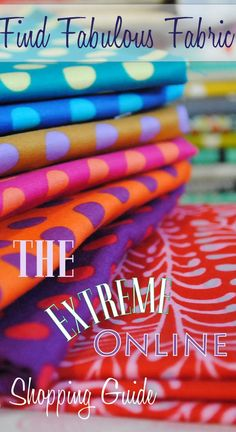 find the best online fabric shops for quilting