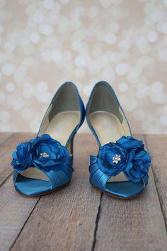 Zapatos de boda azul zapatos algo azules algo azules Ideas