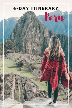 Is Peru on your bucket list? Here's the perfect 6 day Peru itinerary with everything you need to know, do and see in Peru! Bolivia, Chile, Peru Travel, Wanderlust Travel, Equador, Travel Goals, Travel Tips, Travel Packing, Travel Guides