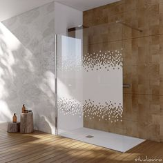 render fotorealistico box doccia : Bathtubs & showers by studioviro Modern Houses Interior, Glass Shower Doors, House Redesign, Modern Bathroom Design, Glass Bathroom, Shower Doors, Minimalist Bedroom, Door Glass Design, Bathroom Design