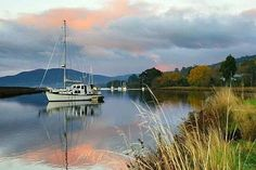 The Huon River . Photo credit to Tasmanian Photos