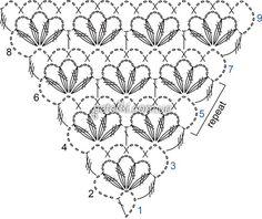 728 fantastiche immagini su crochet shawl, poncho