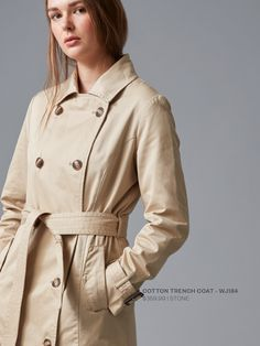 Women's Winter Blues #Cotton #Trench #Coat #Jacket #Womens #Fashion #WildSouth #NewZealand