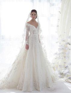 vestido de Ziad Nakad