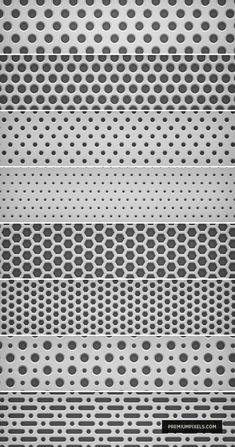 8 Light Metal Grid Patterns by ormanclark.deviantart.com on @deviantART