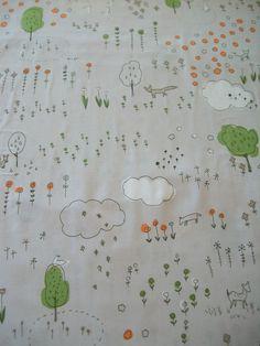 woodland fabric inspiration