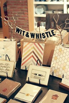 Wit & Whistle - West Elm + Etsy Event  http://witandwhistle.com/2012/04/04/west-elm-etsy-charlotte-event/