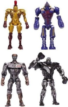 """Buy Real Steel Deluxe Feature 8"""" Figures Wave 1 Set Of 4 Online Shopping - http://wholesaleoutlettoys.com/buy-real-steel-deluxe-feature-8-figures-wave-1-set-of-4-online-shopping"""