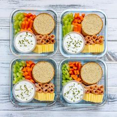 Homemade Ranch Delight Bento Boxes for Eating Clean All Summer! - Clean Food Crush Homemade Ranch Delight Bento Boxes for Eating Clean All Summer! Lunch Meal Prep, Healthy Meal Prep, Healthy Snacks, Healthy Recipes, Healthy Drinks, Meal Prep For The Week Low Carb, Healthy Cooking, Cooking Tips, Clean Eating Recipes