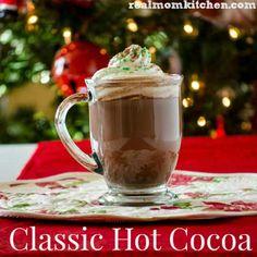 Classic Hot Cocoa | realmomkitchen.com