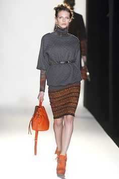 With grey. Mulberry fall 2012 rtw.