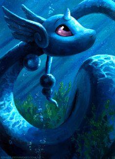 Dragonair by kenket.deviantart.com on @deviantART