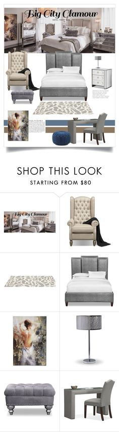 Hotel Front Row: Big City Glamour by valuecityfurn on Polyvore featuring interior, interiors, interior design, home, home decor, interior decorating, Hobbs, Somerset Bay, N.Y.L.A. and Anja