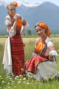 ⭐Bulgarian folklore⭐ Serbian Wedding, Folklore, Costume Ethnique, Native Wears, Costumes Around The World, Beautiful Costumes, Folk Costume, People Of The World, Ethnic Fashion