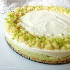 Raw Macadamia Lime Cheesecake | Quirky Cooking