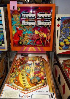 """1978 Simbad """"Gottlieb """" Pinball Machine"""