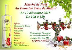 Le Blog du Pays d'Aix: Marché de Noël, Domaine Terre de Mistral Rousset