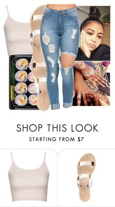 """""""friday!!"""" by aribearie ❤ liked on Polyvore featuring Topshop and Charlotte Russe"""