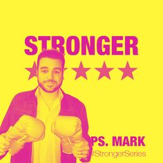 STRONGER THIS SUNDAY Ps. Mark preaching the first message for our #StrongerSeries this Sunday @harvestcotn 9am | 5.30pm #TheGoodFight