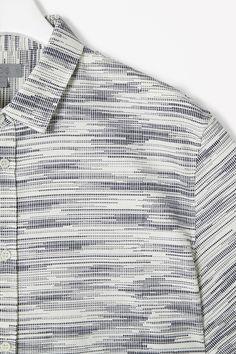 printed oxford shirt, cos.