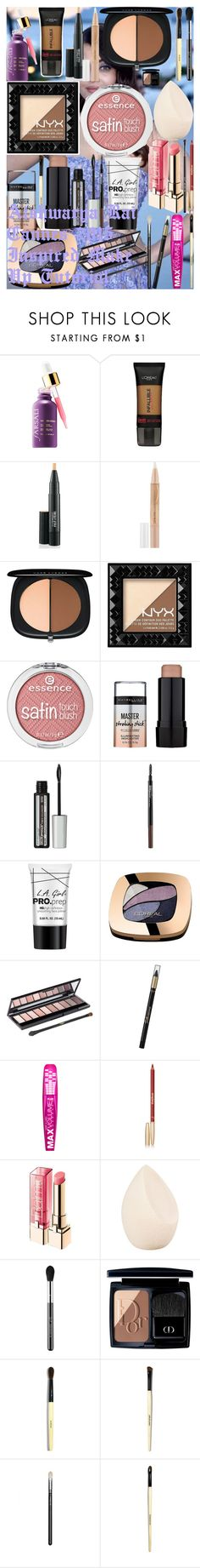 """Aishwarya Rai Cannes 2015 Inspired Make Up Tutorial"" by oroartye-1 on Polyvore featuring beauty, L'Oréal Paris, MAC Cosmetics, Maybelline, Marc Jacobs, NYX, Charlotte Russe, Sisley, Christian Dior and Sigma"
