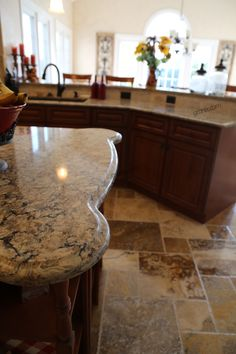 Granite Countertops Kitchen Designs Backsplash Mosaic Marble Worktops