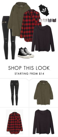 """Daily"" by sintamsrn on Polyvore featuring Paige Denim, Yves Saint Laurent, Madewell, MANGO, Converse, adidas Originals, Luv Aj, women's clothing, women's fashion and women's style"