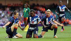 GB Women's Football team