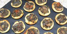 Mini-tartelettes aux champignons crémeux   Une cuisine pour Voozenoo Mini, Kitchens