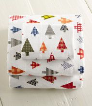 Just found this Holiday Flannel Sheets - Alpine Winter Flannel ...