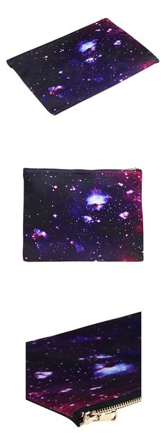 #Romwe Dark Galaxy Print #Bag