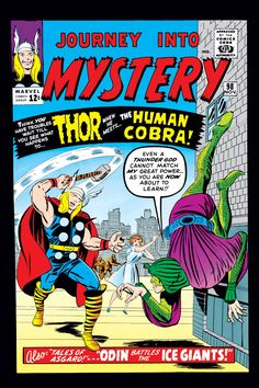 Journey Into Mystery (1952) Issue #98 - Read Journey Into Mystery (1952) Issue #98 comic online in high quality