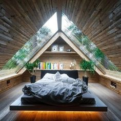 I could watch the rain on those windows all day. : CozyPlaces