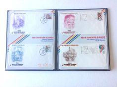 "Postal Commemorative Society ""1984 Olympics"" Winter & Summer Mint  #PostalCommemorativeSociety"