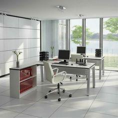 Ergonomie am Arbeitsplatz moderne büroeinrichtung home office
