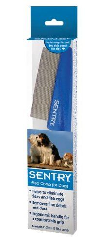 Dog Flea Combs - Sentry Flea Comb for Dogs -- Check this awesome product by going to the link at the image. (This is an Amazon affiliate link)