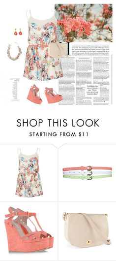 """""""LOVE????"""" by marakiasteraki ❤ liked on Polyvore featuring By Terry, Love, Wet Seal, Pura López, H&M and Betsey Johnson"""
