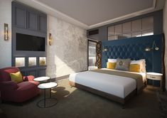 Vintry & Mercer luxury boutique hotel in the City of London, with 92 rooms & suites, 2 restaurants, a roof terrace, speakeasy-style bar and meeting space. Huge Houses, Pink Houses, London Hotels, Jewel Tone Bedroom, Mercer Hotel, Rooftop Restaurant, Adjustable Beds, Guest Room, Luxury