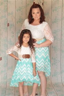 Mommy and me outfit! Mint love